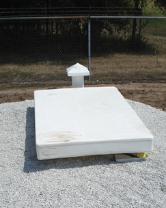 Installed Tornado Shelter, Storm Shelter Installation