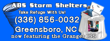 Tornado Shelter, Granger ISS, North Carolina Tornado Shelter Dealer